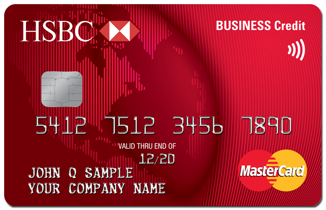 Debit credit cards small business banking hsbc us hsbc mastercard businesscard credit card reheart Choice Image