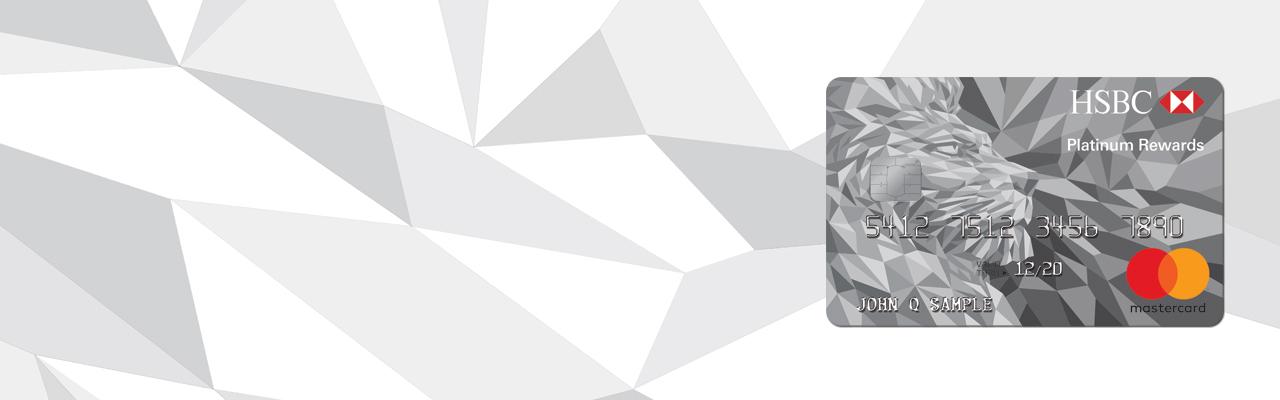 Platinum Rewards Credit Card - HSBC US
