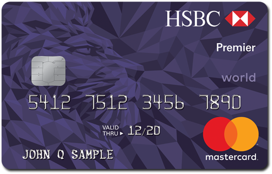 Credit card offers benefits hsbc usa hsbc premier world mastercard credit card reheart Gallery