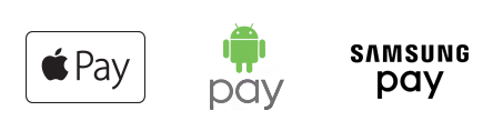 Apple Pay, Android Pay and Samsung Pay